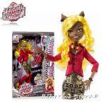 Monster High - Кукла Clawdia Wolf от серията Hauntlywood - BLX11