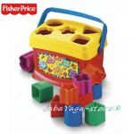 Fisher Price КУБЧЕ с формички за подреждане Baby's First Blocks - K7167
