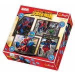 Trefl puzzle 4 in 1, 207 pcs, Spiderman, 34120
