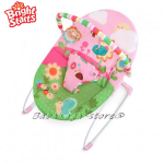 Bright Starts Bouncer Sweet Bees & Buggies Pretty in Pink, 60254