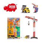 Simba - Dickie КРАН с камион Building Team - 3463337
