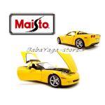 Maisto Special Edition КОЛА 2005 CHEVROLET CORVETTE 1:18 жълт - 31117