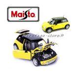 Maisto Special Edition КОЛА Mini COOPER SUN ROOF  1:18 - жълт - 31656
