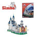 Simba 3D пъзел - Нойшванщайн, 98ч; 42 см - 6130598