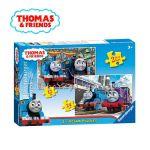 Ravensburger ПЪЗЕЛ за деца с влакчето ТОМАС  и приятели от Thomas & Friends 2в1 - 072378