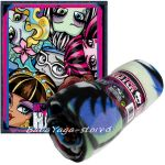 Kids fleece blanket Monster High face, 7205