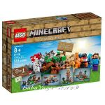 LEGO Конструктор Minecraft Креативен комплект - Crafting Box - 21116