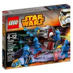 LEGO Конструктор STAR WARS Senate Commando Troopers - 75088