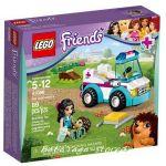 2015 LEGO Конструктор Friends Ветеринарна ЛИНЕЙКА Vet Ambulance - 41086
