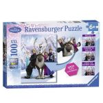 Ravensburger ПЪЗЕЛ за деца ЗАМРЪЗНАЛОТО КРАЛСТВО Frozen Spot The Difference Puzzle - 105571