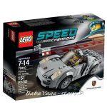 LEGO Конструктор SPEED Champions Състезателна кола Porsche 918 Spyder - 75910