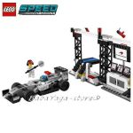 LEGO Конструктор SPEED Champions Боксът на McLaren Mercedes Pit Stop  - 75911