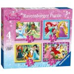 Ravensburger ПЪЗЕЛ за деца (4в1) ПРИНЦЕСИТЕ, Disney Princess Beautifull Puzzle, 07397