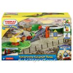 Игрален комплект ПЪРСИ Thomas & Friends Scrapyard Clean-up Team от серията Take-n-Play, Fisher Price, BCX24