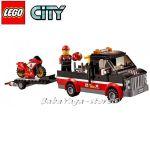 LEGO CITY Racing Bike Transporter - 60084
