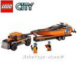 LEGO City Камион с моторница 4x4 with Powerboat - 60085