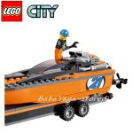 LEGO CITY 4x4 with Powerboat - 60085
