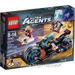 2015 LEGO ULTRA AGENTS Invizable Gold Getaway - 70167
