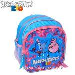Детска РАНИЦА с героите от Ядосаните птици в РИО - Angry Birds Rio backpack 26cm - 16009