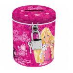 Касичка метална с катинарче Барби - Barbie metal coin box 261822