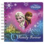 Дневник с твърди корици Disney Елза и Анна от Замръзналото кралство, цвете - 338741