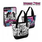 Чанта за оцветяване Monster High shoulder for painting - 282699