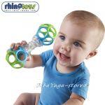 RhinoToys Shaker Baby Rattle Oball - 81107