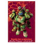 Детско одеяло Костенурките НИНДЖА Turtle fleece blanket mission - 07207