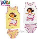Детско бельо комплект (потник + слип) Дора Откривателката Dora - 57070