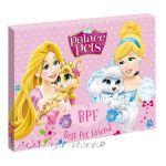 Картина с LED светлина за детска стая ПРИНЦЕСИТЕ - Princess Palace pets canvas 440016