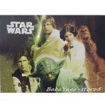 Картина с LED светлина за детска стая Междузвездни войни -  Star Wars canvas 14063