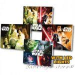 Картина с LED светлина за детска стая Междузвездни войни -  Star Wars canvas 14061