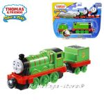Fisher Price Влакчето ТОМАС Thomas & Friends HENRY от серията Take-n-Play - CBL91