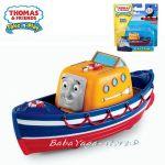 Fisher Price Влакчето ТОМАС Thomas & Friends CAPTAIN от серията Take-n-Play - T4198