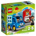 2016 LEGO Конструктор DUPLO Полицейски патрул Police Patrol - 10809