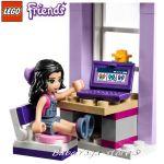 ЛЕГО ФРЕНДС Творческата работилница на Ема, LEGO Friends Emma's Creative Workshop, 41115