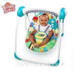 Bright Starts Люлка за бебе Portable Swing™ SAFARI SMILES - 60403