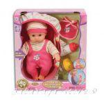 БЕБЕ-кукла 25см с кенгуру и аксесоари от серията Dream collection Traveling Baby - 29141