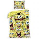Спален комплект с героите на Дисни Sponge Bob, 2 части
