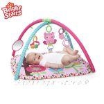 Bright Starts Активна гимнастика CHARMING Chirps СОВА от серията Pretty in Pink - 52170
