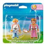 Playmobil Princess: Фигурки Принцеса и Фея, Princess & Magical Fairy, 4128