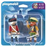 Playmobil Pirates Pirate and Redcoat Soldier Duo Pack - 4127