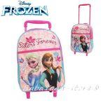 Раница с колелца ЗАМРЪЗНАЛОТО КРАЛСТВО, Frozen rolling bagpack (34cm) - WD92085