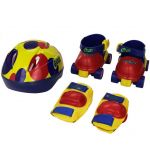 GIOCA Раничка комплект с кънки , каска и протектори - IKXLB10