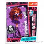 TREFL ПЪЗЕЛ за деца Монстър Хай (мини), Clawdeen Wolf Monster High (54 части) - 19330