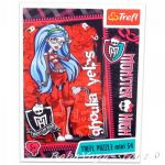 TREFL ПЪЗЕЛ за деца Монстър Хай (мини), Ghoulia Yelps Monster High (54 части) - 19331