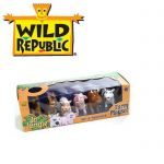 Фигури животни меки Wild Republic Jr. Jungle, Ферма(6бр) - 87952