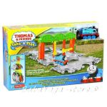 Игрален комплект ТОМАС Thomas & Friends Knapford Station Tile Tracks от серията Take-n-Play, Fisher Price, CDN06