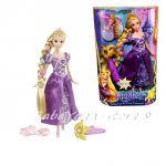 КУКЛА Рапунцел с аксесоар за прическа, Disney Princess Rapunzel от Mattel - W1508