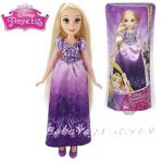 КУКЛА Рапунцел от серията Дисни Принцеси, Disney Princess Royal Shimmer Doll Rapunzel, B5286